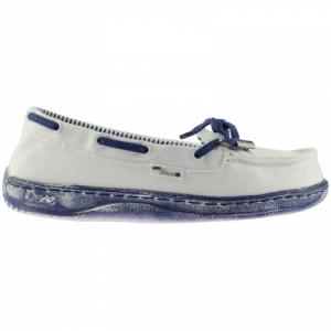 DUDE MOKA SS14 WHITE/NAVY 36. Цвет: white/navy