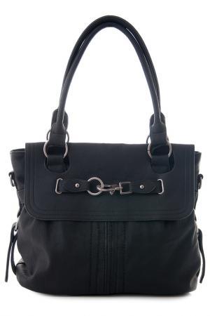 Сумка Vera bags. Цвет: black
