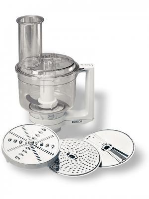 Диск-терка/шинковка MUZ4MM3 для кухонных комбайнов серебристый Bosch. Цвет: серебристый