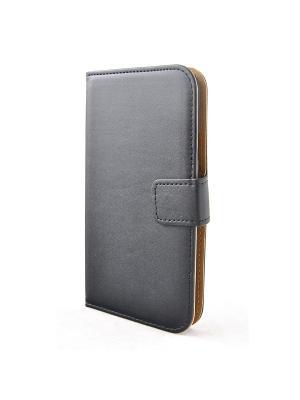 Чехол для Samsung Galaxy S5 PU-кожа , кошелек, SLIM, черный Belsis. Цвет: черный