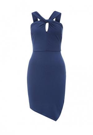 Платье Miss Selfridge. Цвет: синий
