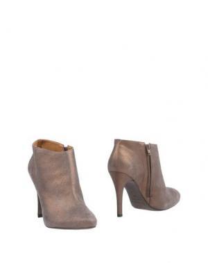 Полусапоги и высокие ботинки VICENZA). Цвет: светло-коричневый