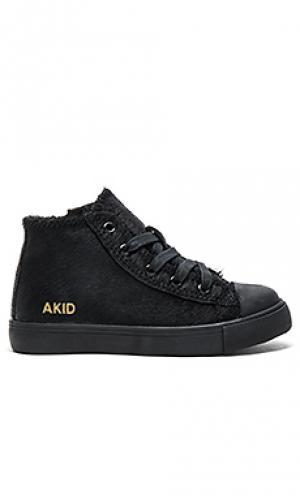 Кроссовки anthony hi AKID. Цвет: черный