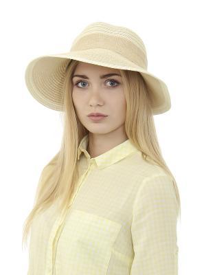 Шляпа Gusachi. Цвет: бежевый, белый