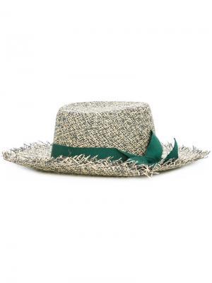 Шляпа Frayed Sensi Studio. Цвет: телесный