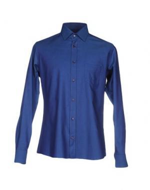 Pубашка HERMAN & SONS. Цвет: темно-синий