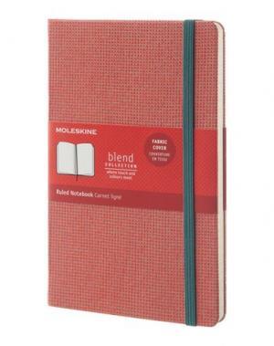 Записная книжка MOLESKINE. Цвет: кирпично-красный