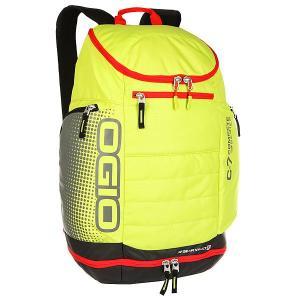 Рюкзак туристический  C7 Sport Pack Lime Punch Ogio. Цвет: желтый,серый