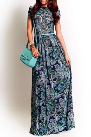 Платье FRANCESCA LUCINI. Цвет: мятный