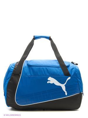 Сумка evoPOWER Medium Bag Puma. Цвет: синий, черный