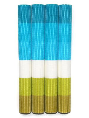 Плейсматы, 4 шт DiMi. Цвет: белый, голубой, зеленый