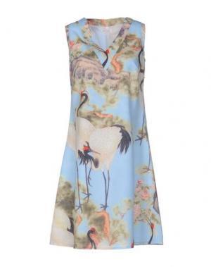 Короткое платье JUST IN CASE. Цвет: небесно-голубой