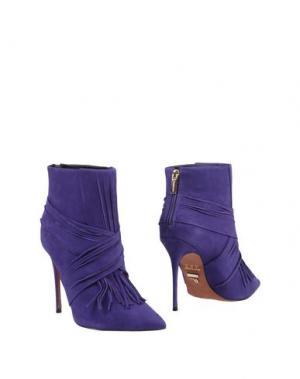 Полусапоги и высокие ботинки CARRANO. Цвет: фиолетовый