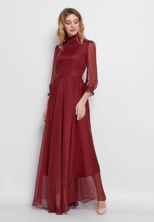 Платье Nothing but Love. Цвет: бордовый