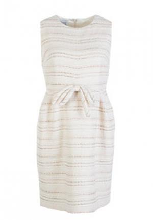 Платье EDWARD ACHOUR. Цвет: бежевый