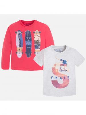 Комплект одежды Mayoral. Цвет: красный