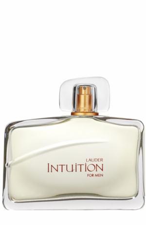 Парфюмированная вода Intuition Estée Lauder. Цвет: бесцветный