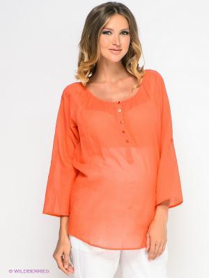Кофточка ESPRIT. Цвет: оранжевый