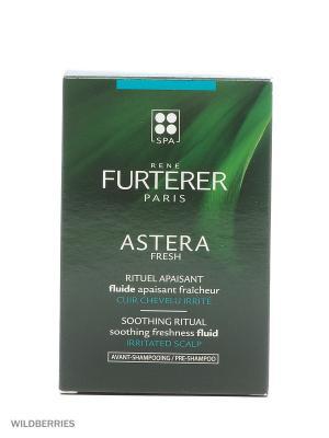 Флюид успокаивающий и охлаждающий для раздраженной кожи головы Astera, 50 мл Rene Furterer. Цвет: прозрачный