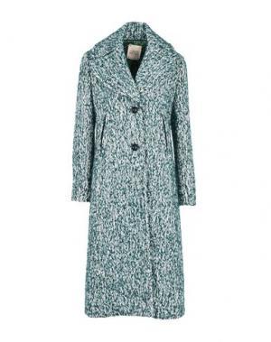 Пальто GARAGE NOUVEAU. Цвет: зеленый