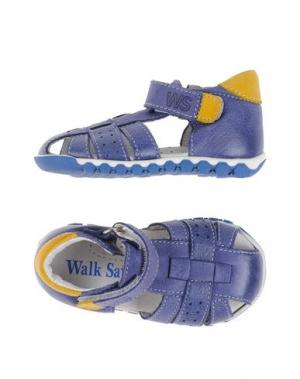 Сандалии WALK SAFARI. Цвет: темно-фиолетовый