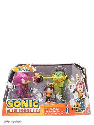 Набор фигурок Боксет: Команда Chaotix. Соник Sonic. Цвет: оранжевый
