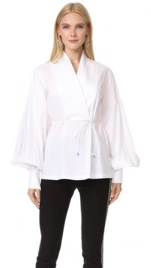 Рубашка Tivoli Acler. Цвет: белый
