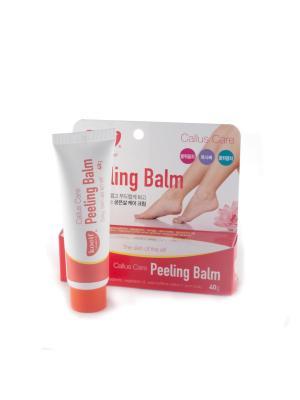 Бальзам для кожи ступней с эффектом пилинга, 40мл, KOELF. Цвет: белый