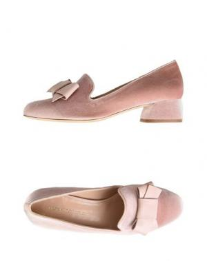 Мокасины LEONARDO PRINCIPI. Цвет: розовый