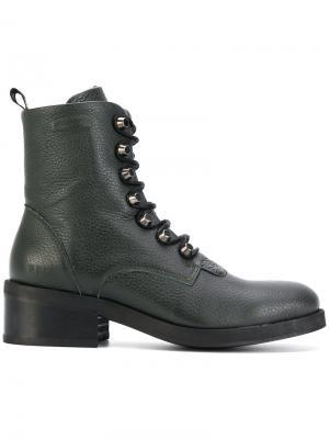 Ботинки Dalida Cone Nubikk. Цвет: зелёный