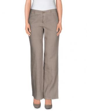 Повседневные брюки BLUKEY. Цвет: серый