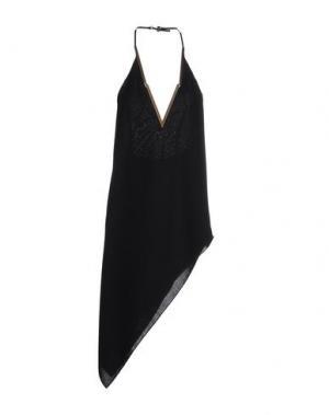 Короткое платье BABYLON. Цвет: золотистый