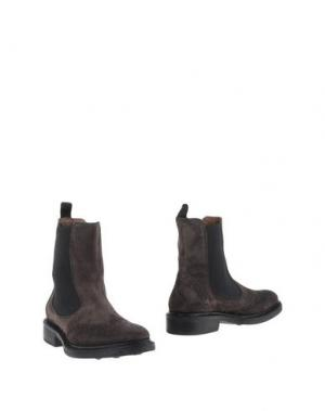 Полусапоги и высокие ботинки SAX. Цвет: стальной серый