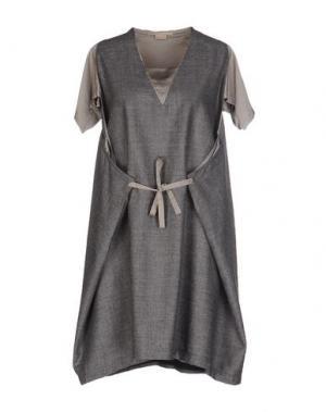 Короткое платье MARITHÉ + FRANÇOIS GIRBAUD. Цвет: серый