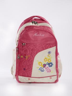 Рюкзак Vittorio Richi. Цвет: розовый, бежевый
