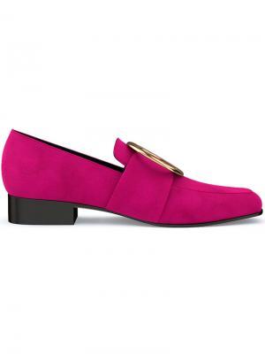 Лоферы Harput Dorateymur. Цвет: розовый и фиолетовый