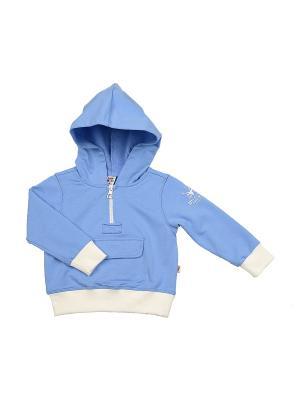 Худи Mini Maxi. Цвет: голубой