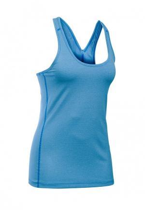 Майка спортивная Under Armour. Цвет: голубой