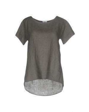 Блузка ROSSOPURO. Цвет: свинцово-серый