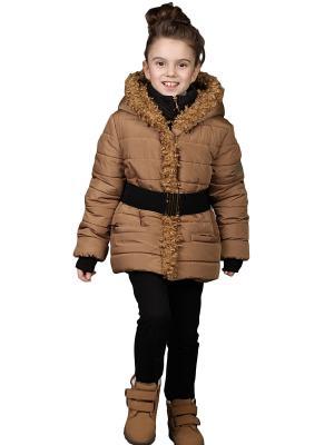 Куртка babyAngel. Цвет: рыжий