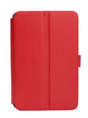 Чехол-книжка Norton универсальный 7,85 с уголками, правосторонняя камера (красный карбон) Norton.. Цвет: красный