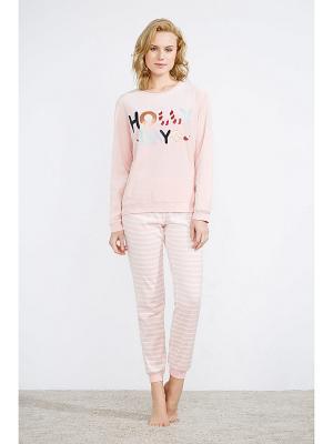Пижама Women' Secret. Цвет: розовый, фиолетовый