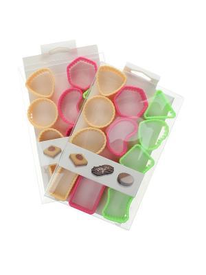 Набор (Форма для выпечки - 24 шт.) Migura. Цвет: розовый, зеленый, персиковый