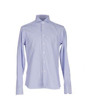 Pубашка NO BRAND. Цвет: синий