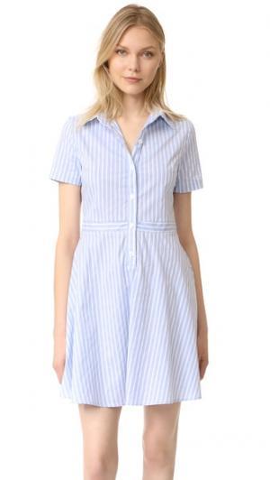 Платье Hallie RUKEN. Цвет: голубая полоска