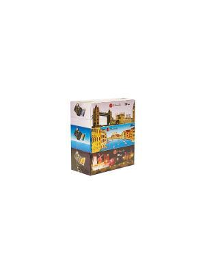 Блок из 3 упаковок бумажных салфеток серии Dream Аромат Европы, 2 слоя, по 250 шт., FT722/1 Maneki. Цвет: белый