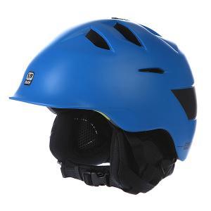 Шлем для сноуборда  Kingston Satin Cyan Liner Blue/Black Bern. Цвет: синий
