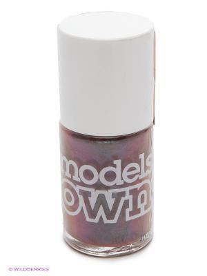 Лак для ногтей, Beetlejuice Hayleys Comet Models Own. Цвет: коричневый