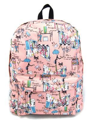 Рюкзак Creative. Цвет: розовый