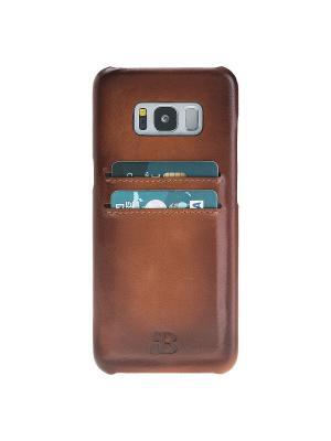 Чехол бампер Samsung Galaxy S8 Burkley. Цвет: коричневый